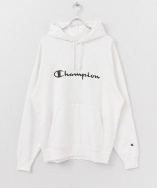 Champion 別注プリントパーカ