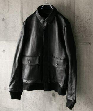 ラムレザーフライトジャケット