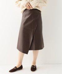 【AERON /アーロン】BUTTONED ラップスカート