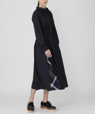 【SWEETコラボ】エアリーツイルトレンチドレス