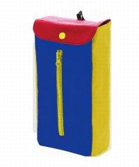 ティッシュボックスケース Slide ブルー