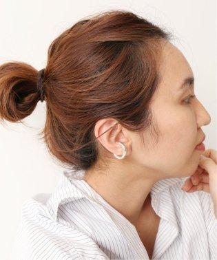 【SASKIA DIEZ】 BOLD EAR CUFF NO.3 チュウ(シルバー)2◆