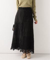 SLOBE IENA Fi.m パッチワークレースロングスカート
