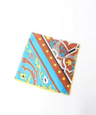 ≪manipuri≫モザイクシルクスカーフ