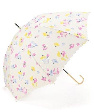 Wpc.(ダブリュー・ピー・シー)晴雨兼用/LONG UMBRELLA/長傘/スイートピー/花柄