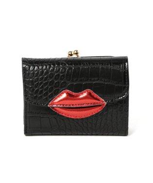 Casselini × Ray BEAMS / 別注 クロコ風型押し 財布