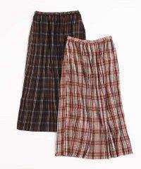 【午後の紅茶×a.v.v】サキゾメチェックプリーツスカート
