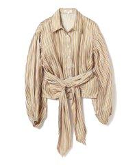 GHOSPELL / Stripe Crop Shirts