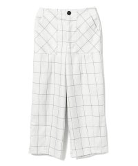 GHOSPELL / Brief Check Trouser Pants