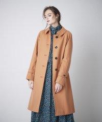 <Rain Wool>ウールカシミヤナイロンバルマカーンコート