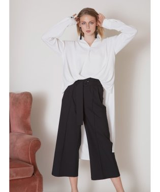 Pintuck HighRise Slacks