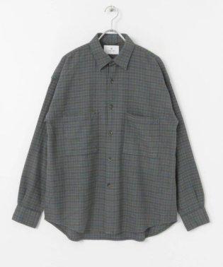 ガンクラブネルチェックシャツ