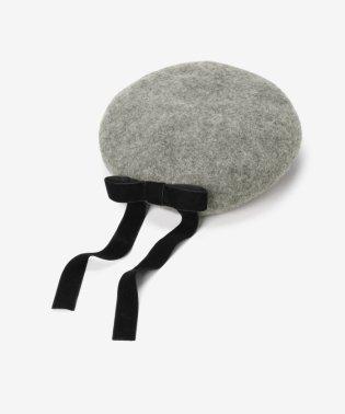 リボンベレー帽