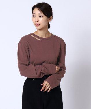 [RADIATE]スリットネックTシャツ