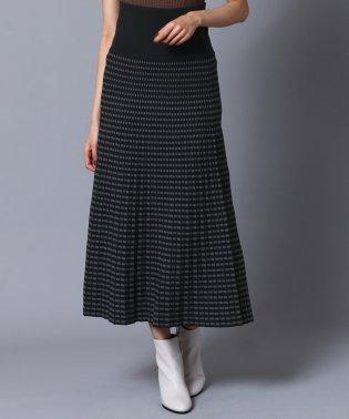 [RADIATE]幾何柄ロングスカート