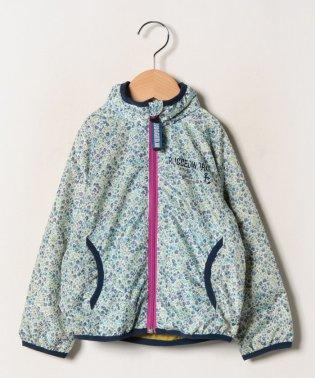 花柄ポケッタプルジップジャケット