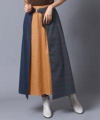 [RADIATE]配色ベルトスカート