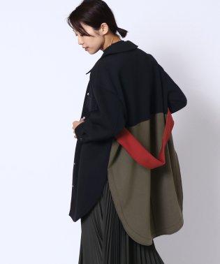[radiate lifedress]ボンディング配色シャツジャケット