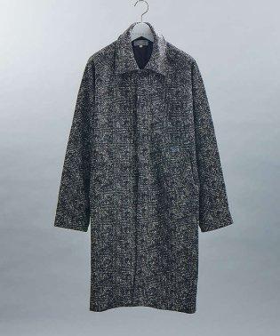【展開店舗限定】プリントフリースステンカラーコート