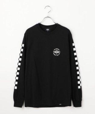 VANS:CHECKERロングスリーブTシャツ