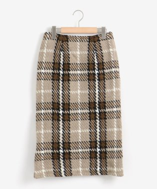 John Braniganチェックタイトスカート