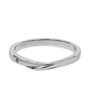 With Blue Diamond  Ring/ブルーダイヤモンド リング