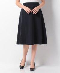 【noir】シャリ感トロストレッチ台形シルエットスカート