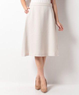 【noir】刺し子風ブッチャー台形シルエットスカート