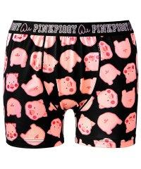 メンズ ボクサーパンツ ピンクピギィ柄 ボクサーショーツ (下着 メンズ下着 男性下着 男性用ショーツ ボクサーブリーフ 男性用下着 ショーツ ボクサー プレゼ