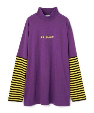Chica/チカ/レイヤードボーダーロングスリーブTシャツ
