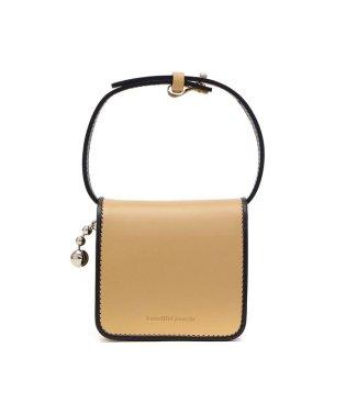 ビューティフルピープル 財布 beautiful people 二つ折り財布 combi color ball chain compact wallet 日本