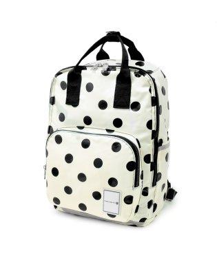 リュックサック(ラージサイズ) polka dot large(twill・white)