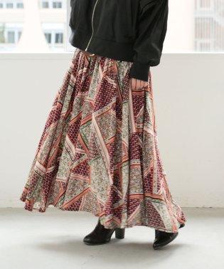 『n'Orニュアンステキスタイルロングスカート』