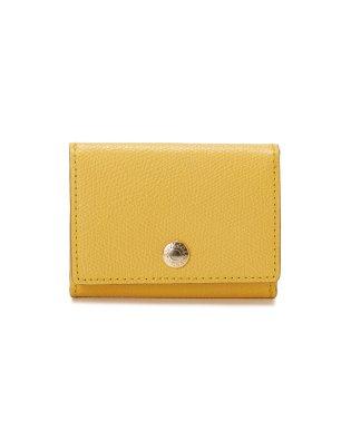 【Oggi 5月号・GINGER3月号掲載商品】角シボ型押し・三つ折りミニ財布