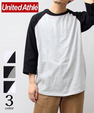 【UnitedAthle/ユナイテッドアスレ】5.6オンスラグランスリーブTシャツ/7分袖