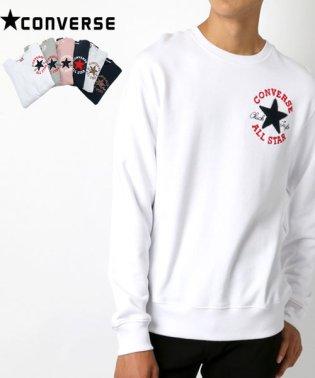 【CONVERSE】コンバース 星サガラ刺繍 裏毛 トレーナー
