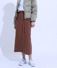 リボンロングスカート