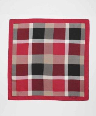 クレストブリッジチェックシルクスカーフ