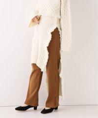 【TAN】 LAMBS CABLE スカート
