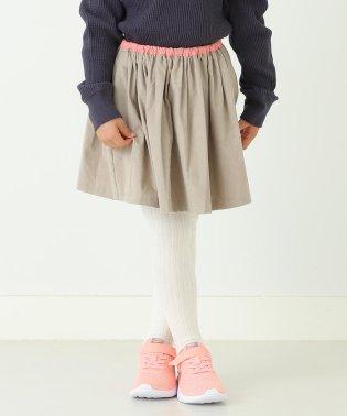 mimi poupons × こども ビームス / 別注 シャツコール スカート19(92~130cm)