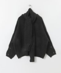 2WAYマフラーツキセーター
