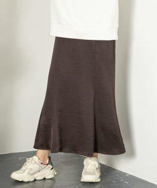 レトロロングナロースカート