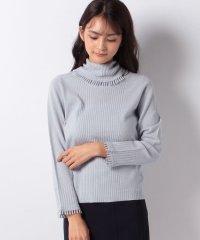 フリンジ付きセーター