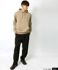 【KANGOL】カンゴール 袖ロゴテープ 胸ロゴ刺繍 裏毛 パーカー