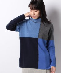 GOBIカシミヤ インターシャセーター