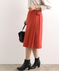 【EASY CARE】サイドプリーツフレアスカート