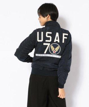 SH U.S.A.F. 70th ANNIVERSARY TYPE MA-1 JACKET/ アメリカ空軍70周年記念 タイプ MA-1/Womens
