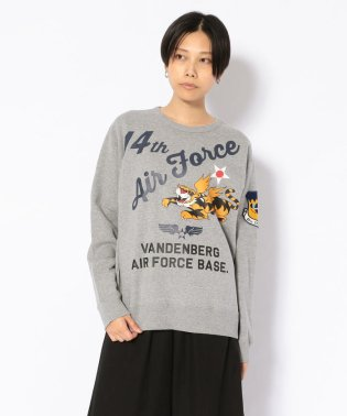 SH/ クルースウェット/ CREW SWEAT 14TH AIR FORCE