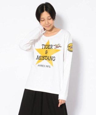 SH タイガー&マスタング ロングスリーブティーシャツ/ LS TEE 26TH TIGER&MUSTANG