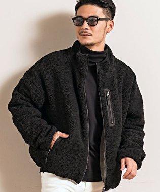CavariA【キャバリア】中綿リバーシブルボアフリースジャケット